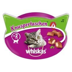 Whiskas Temptations - Økonomipakke: Laks 8 x 60 g
