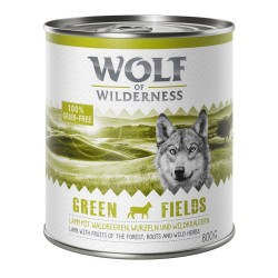 Wolf of Wilderness Adult 6 x 800 g - Black Rocks - Ged