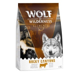 Wolf of Wilderness ''Rocky Canyons'' - Okse - 1 kg