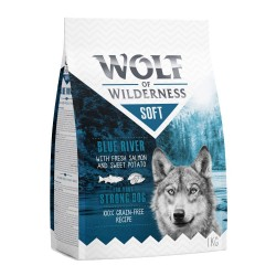Wolf of Wilderness ''Soft - Blue River'' - Laks hundefoder - 12 kg