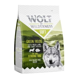 Wolf of Wilderness ''Soft - Green Fields'' - Lam - 1 kg
