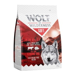 Wolf of Wilderness ''Soft - High Valley'' - Okse - 12 kg