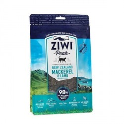 ZiwiPeak til kat, tørret Makrel og lam, 400 gr.